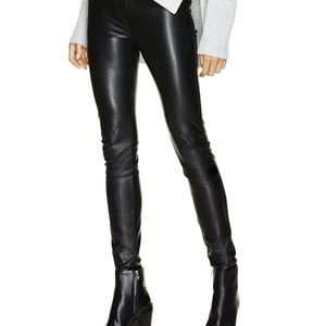 WILFRED FREE faux leather legging